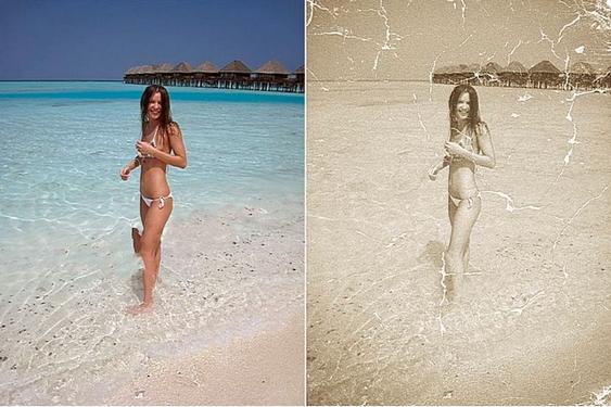 Старение фото в Фотошоп. Урок Photoshop